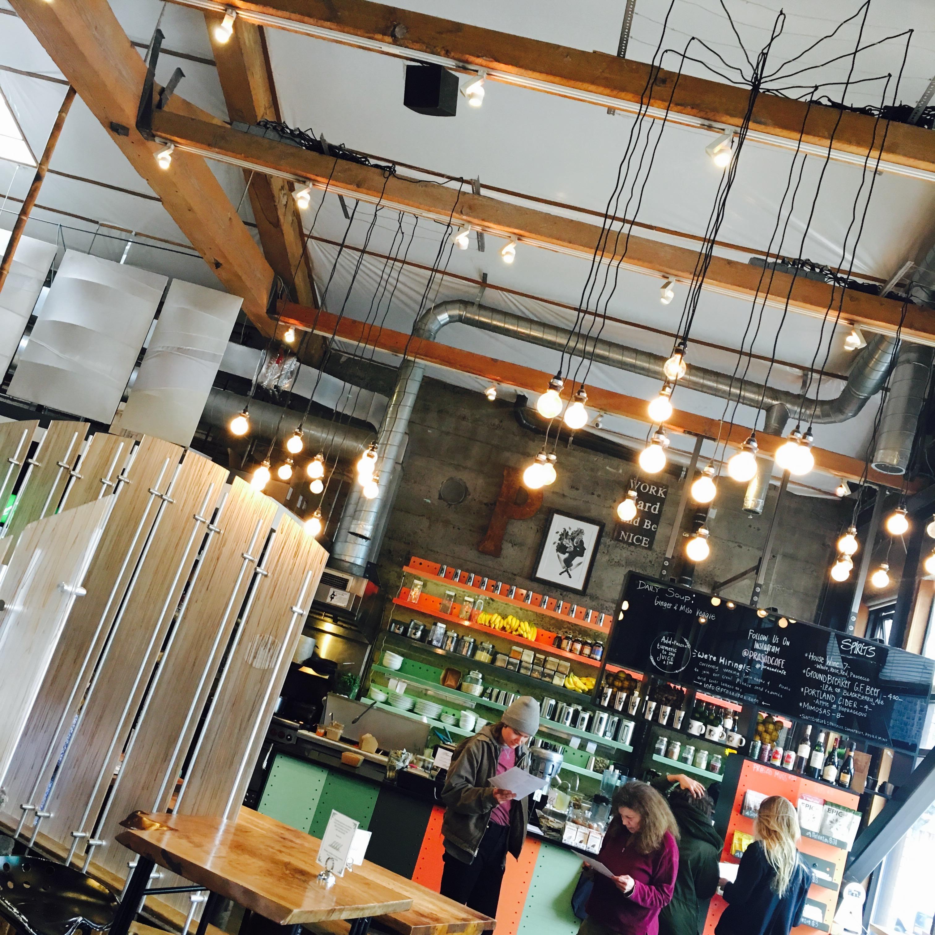 restaurant atmosphere prasad