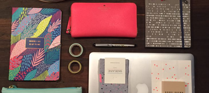what's in your bag? bright essentials are calling for a great week!