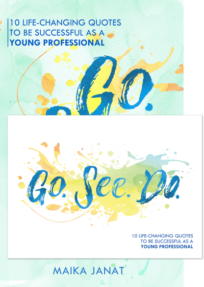 Go. See. Do. Book and Postcard Boxed Set. 10 Life-Changing Quotes to Be Successful as a Young Professional.