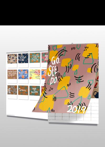 GO. SEE. DO. 2019 Calendar