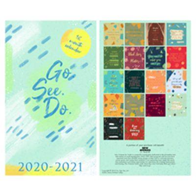 GO. SEE. DO. 18-Month Calendar 2020-2021