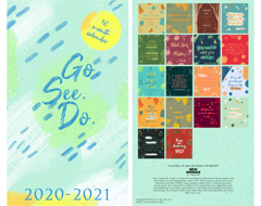 GO. SEE. DO. 18-Month Calendar 2020-2021